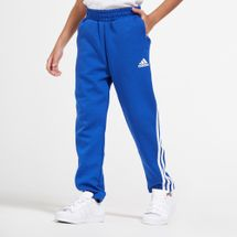 adidas Kids' 3-Stripes Tapered Pants (Older Kids)