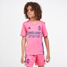 adidas Kids' Real Madrid Away Jersey - 2020/21 (Older Kids)