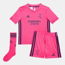 طقم ريال مدريد الاحتياطي 2020-2021 من اديداس للاطفال الصغار