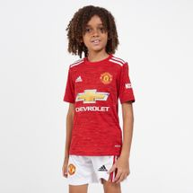 adidas Kids' Manchester United Home Jersey - 2020/21 (Older Kids)