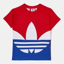 adidas Originals Kids' Large Trefoil T-Shirt (Baby and Toddler)