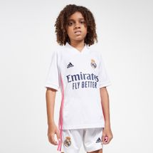 adidas Kids' Real Madrid Home Jersey - 2020/21 (Older Kids)