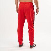adidas Men's Tan Tape Clubhouse Pants, 1461026