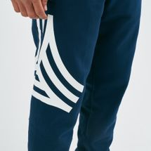adidas Men's Tan Graphic Track Pants, 1638007