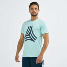 adidas Men's Tan Graphic T-Shirt