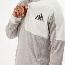 adidas Men's Team Issue Pullover Hoodie, 1459209