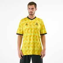 adidas Men's Exhibit Tango Allover Print Jersey