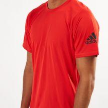 adidas Men's FreeLift Sport Ultimate Solid T-Shirt, 1459186