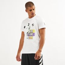 adidas Men's Dame 5 Logo T-Shirt