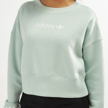 adidas Originals Women's Coeeze Cropped Sweatshirt, 1470431