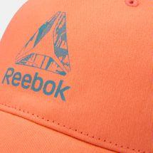 Reebok Kids' U Logo Cap (Younger Kids) - Pink, 1610963