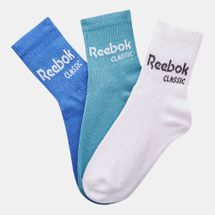 Reebok Classics Core Crew Socks Three Pack