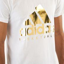 adidas Men's Gold Foil Badge Of Sport T-Shirt, 1593830