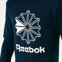 Reebok Classics Men's AC Big Starcrest Crewneck Sweatshirt, 1594037
