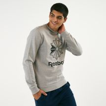 Reebok Classics Men's Big Iconic Crewneck Sweatshirt