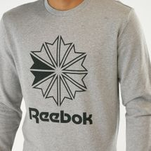 Reebok Classics Men's Big Iconic Crewneck Sweatshirt, 1606188