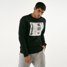 Reebok Classics Men's Graphics Crewneck Sweatshirt