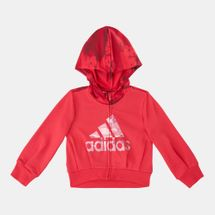 adidas Kids' Fitted Hoodie (Younger Kids)