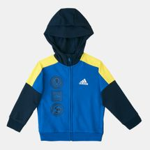 adidas Kids' Fitted Knit Hoodie (Younger Kids)