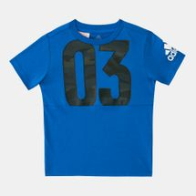adidas Kids' Cotton T-Shirt (Younger Kids)