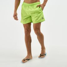 Reebok Men's Beachwear Basic Boxer Shorts Green