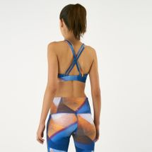 Reebok Women's Yoga Hero Strappy Padded Sports Bra, 1613350
