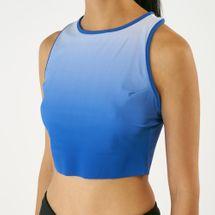 Reebok Women's Yoga Ombre Crop Tank Top, 1606276