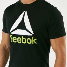 Reebok Men's QQR Stacked T-Shirt, 1606292