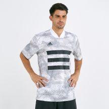 adidas Men's Tan Graphic Jersey