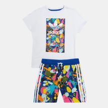 adidas Originals Kids' Shorts Set (Younger Kids)
