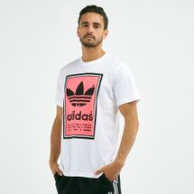 adidas Originals Men's Filled Label T-Shirt