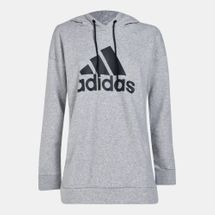 adidas Women's Must Haves Badge of Sport Logo Hoodie
