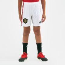 شورت فريق مانشستر يونايتد الأساسي 2019-2020 من اديداس للاطفال الصغار