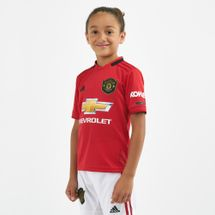 adidas Kids' Manchester United Home Jersey - 2019/20