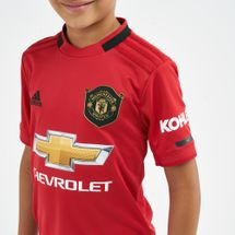 adidas Kids' Manchester United Home Jersey - 2019/20, 1742724