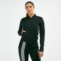 سترة البدلة الرياضية ماست هافس 3-سترايبس من اديداس للنساء