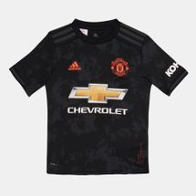 adidas Kids' Manchester United Third Jersey -2019/20 (Older Kids)