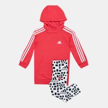 adidas Kids' Hooded Dress Set (Younger Kids)