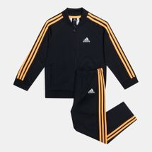 adidas Kids' Training Shiny Sports Track Suit (Baby and Toddler)