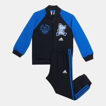 adidas Kids' colourblock Track Suit (Baby and Toddler)