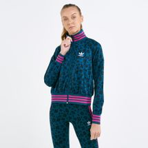 adidas Originals Women's Allover Prints Track Jacket