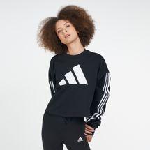 adidas Women's Adjust 3-Stripes Sweatshirt