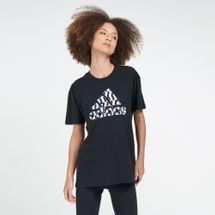 adidas Women's Athletics Must Haves Graphic Logo T-Shirt