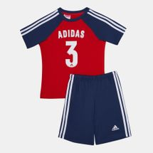 adidas Kids' Messi Summer Set (Baby and Toddler)