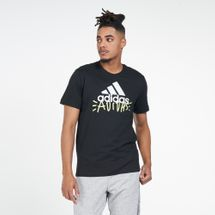 adidas Men's Doodle Badge Of Sport T-Shirt