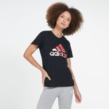 adidas Women's Must Haves Foil Logo T-Shirt