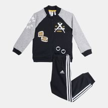 adidas Kids' Collegiate Track Suit (Baby and Toddler)