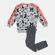 adidas Kids' Disney Mickey Mouse Joggers Set (Baby and Toddler)