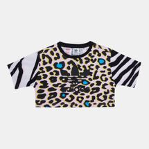 adidas Originals Kids' LZ Cropped T-Shirt (Older Kids)