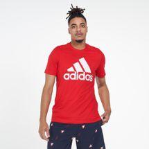 adidas Men's Athletics Badge Of Sport T-Shirt